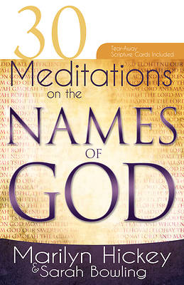 Picture of 30 Meditations on the Names of God