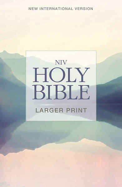 NIV Larger-Print Bible; Lakeside
