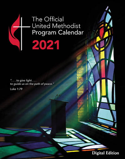 Picture of Official United Methodist Program Calendar 2021 Digital Edition