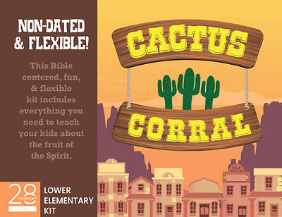 Picture of 28nineteen Cactus Corral Lower Elementary Kit