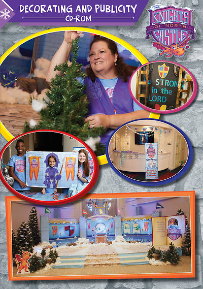Picture of Vacation Bible School (VBS) 2020 Knights of North Castle Decorating and Publicity CD-ROM