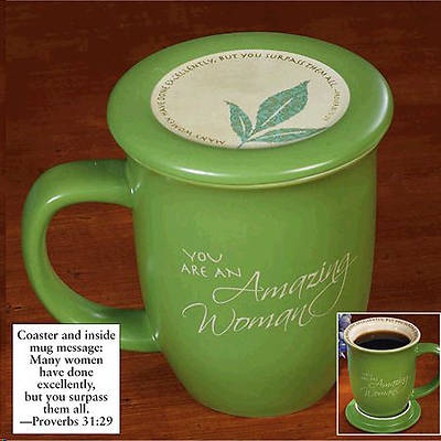 Amazing Woman Mug and Coaster Set