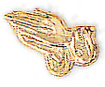 Praying Hands Gold Lapel Pin