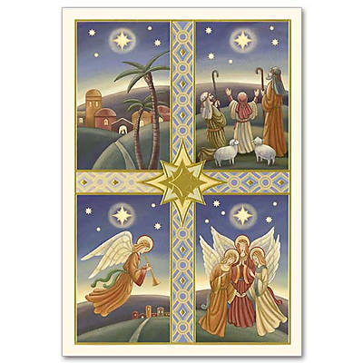 Nativity Christmas Boxed Cards Tri-Fold