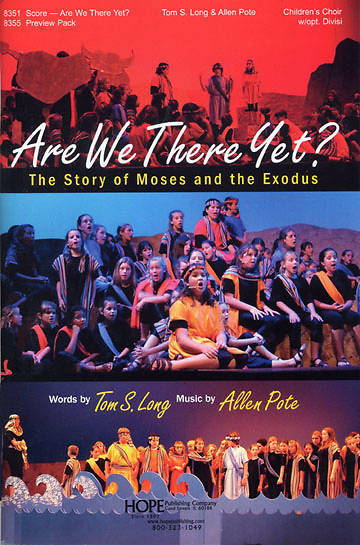 Are We There Yet? Choral Book