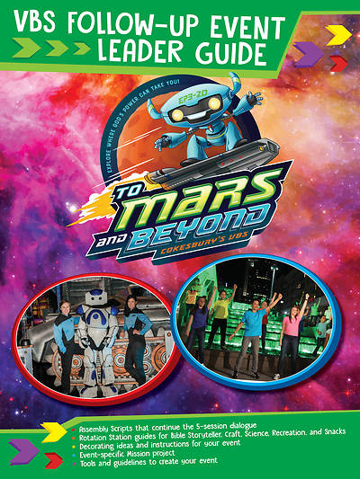Picture of Vacation Bible School (VBS) To Mars and Beyond VBS Follow-Up Event Leader Guide