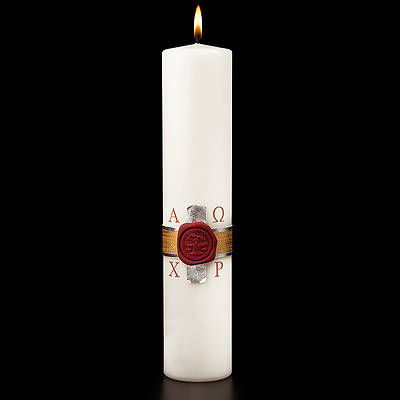 Picture of Anno Domini Christ Candle