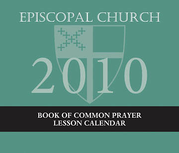 2010 Episcopal Church Lesson Calendar