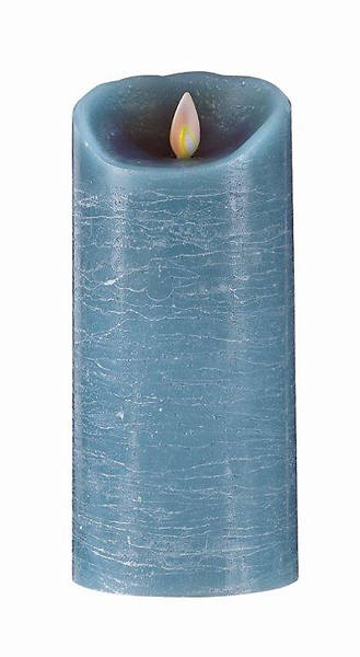 Picture of Advent Blue Flameless Pillar Candle