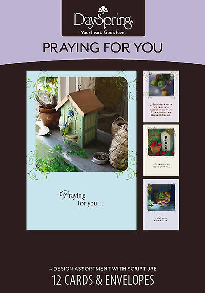 Calis Cottage - Praying for You Boxed Cards - Box of 12