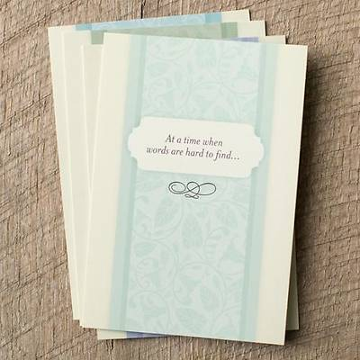 Simple Sentiments - Sympathy Boxed Cards - Box of 12