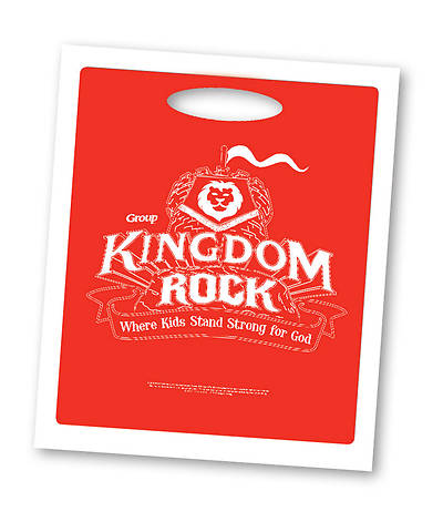 Group VBS 2013 Kingdom Rock Crew Bags (pkg. of 10)