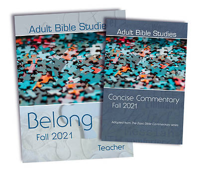 Picture of Adult Bible Studies Fall 2021 Teacher/Commentary Kit - PDF Download