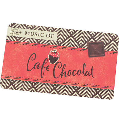 Picture of Music of Café Chocolat Digital Music Card