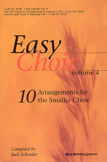 Easy Choir Volume 4 Choral Book