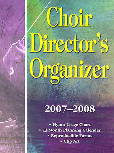 Picture of Choir Directors Organizer 2007-2008