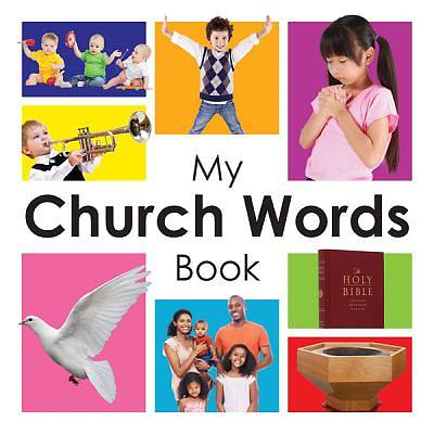 Picture of My Church Words Book