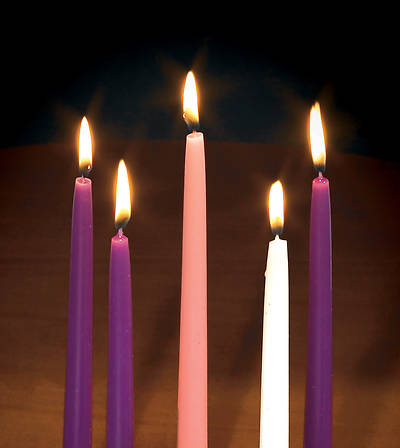 "Replacement Candles 10"" x 3/4"" (Set of 5)"