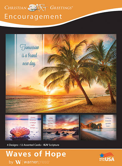 Picture of Waves of Hope Encouragement Boxed Cards (Box of 12)