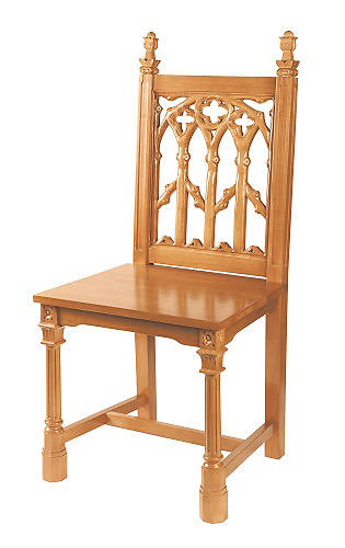 Picture of Canterbury Collection Side Chair - Medium Oak Stain