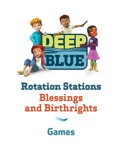 Picture of Deep Blue Rotation Station: Blessings and Birthrights - Games Station Download