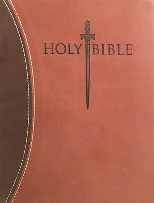 Kjver Sword Study Bible Giant Print Dark Brown Light Brown Ultrasoft