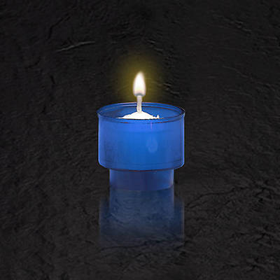 Picture of Blue Disposable Votive Light (Package of 144)