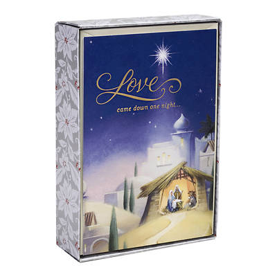 Picture of Love Came Down One Night Christmas Cards