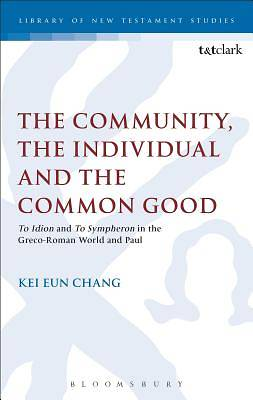 The Community, the Individual and the Common Good