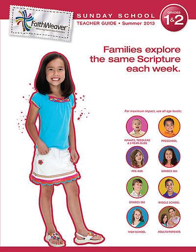 Picture of Group's FaithWeaver Grades 1 & 2 Teacher Guide: Summer 2013