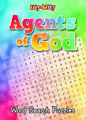Picture of Agents of God Word Search Ittybitty Activity Book
