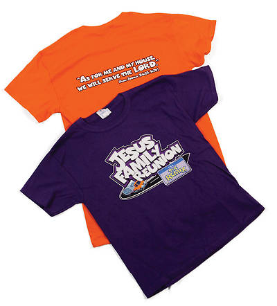 UMI VBS 2013 Jesus Family Reunion: T-Shirt Orange - Large - Adult