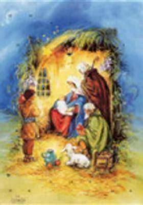Jesus in the Manger Advent Calendar #CA552