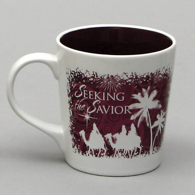 Seeking the Savior Nativity Greetings Mug