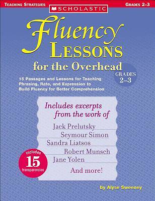 Fluency Lessons for the Overhead