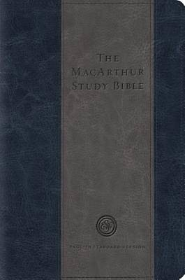 The MacArthur Study Bible (Trutone, Blue/Charcoal)