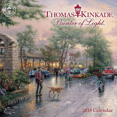 Thomas Kinkade Painter of Light Mini Wall Calendar 2014