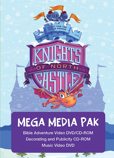 Picture of Vacation Bible School (VBS) 2020 Knights of North Castle Mega Media Pak