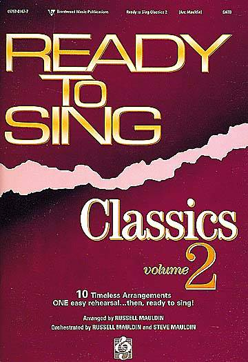Ready to Sing Classics Volume 2 Choral Book