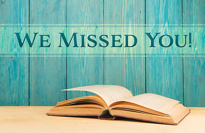Picture of We Missed You! Postcard