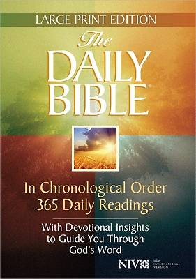 Picture of The Daily Bible Large Print Edition