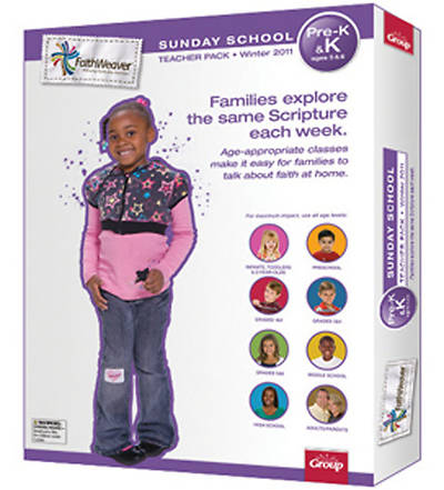 Picture of FaithWeaver Pre K&K Teacher Pack