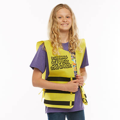 Vacation Bible School (VBS) 2018 Rolling River Rampage Tie-On Life Vest (Pkg of 12)