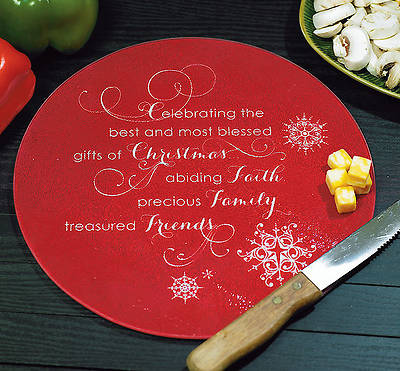 Gifts of Christmas Cutting Board