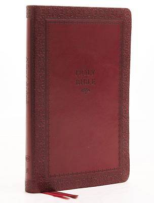 Picture of KJV, Thinline Bible, Standard Print, Imitation Leather, Red, Indexed, Red Letter Edition, Comfort Print