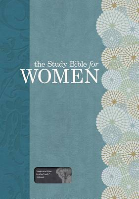 The Study Bible for Women, Smoke/Slate Leathertouch, Indexed