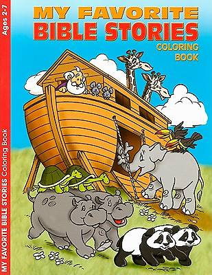 My Favorite Bible Stories Coloring Book