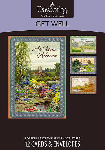 Picture of Waters of Life - Get Well Boxed Cards - Box of 12