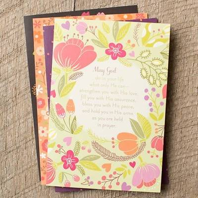 Picture of Prayers & Blessings - Praying For You Boxed Cards - Box of 12