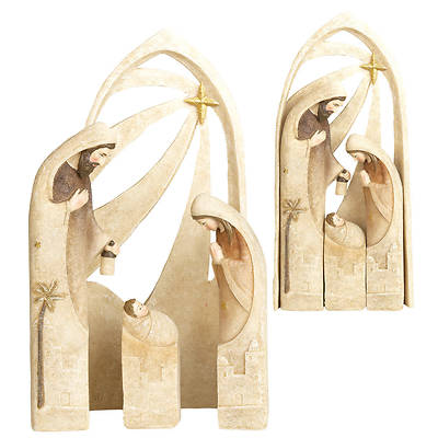 "Picture of Nativity Nested 11""H (4 Piece)"